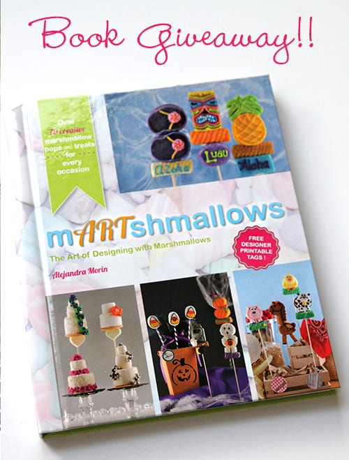mARTshmallows Book Giveaway - Fun Food Ideas for Marshmallows by The Marshmallow Studio