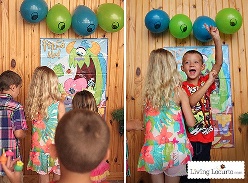 Monster university birthday party ideas with free party printables by