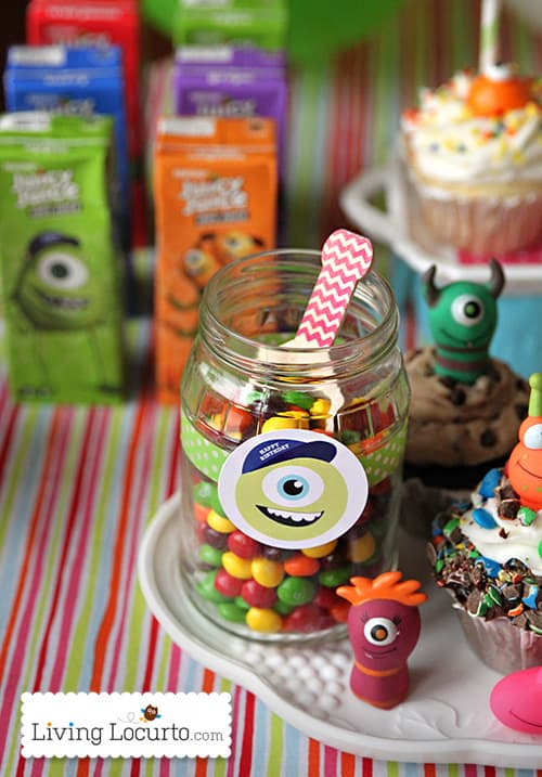Monsters University Birthday Party Free Printables Juicy Juice