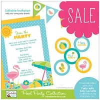 End of Summer Sale! 50% OFF Select Party Printables