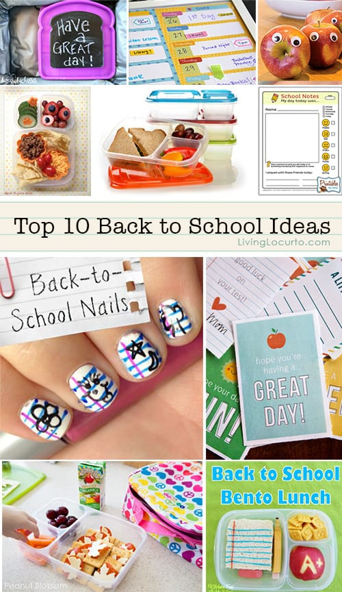 Top 10 back to school ideas for School diy ideas