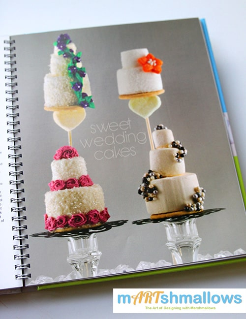 mARTshmallows Book - Fun Food Ideas for Marshmallows by The Marshmallow Studio