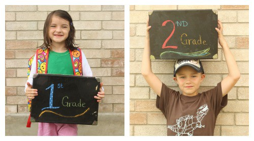Back to School Keepsake Box - Kids Craft Tutorial by Stacy at Kids Stuff World
