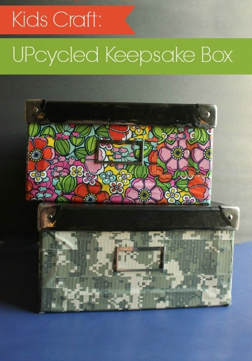 Back to School Keepsake Box - Kids Craft Tutorial by Stacy at Kids Stuff World