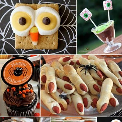 13 Halloween Party Recipe Ideas