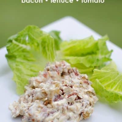 BLT Dip! Easy Bacon Lettuce Tomato Dip Recipe