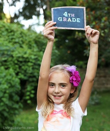 Back to School Photo Prop Signs