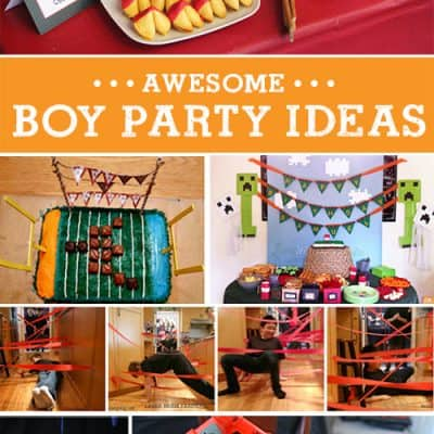 6 Amazing Boy Birthday Party Ideas! {Living Creative Thursday}