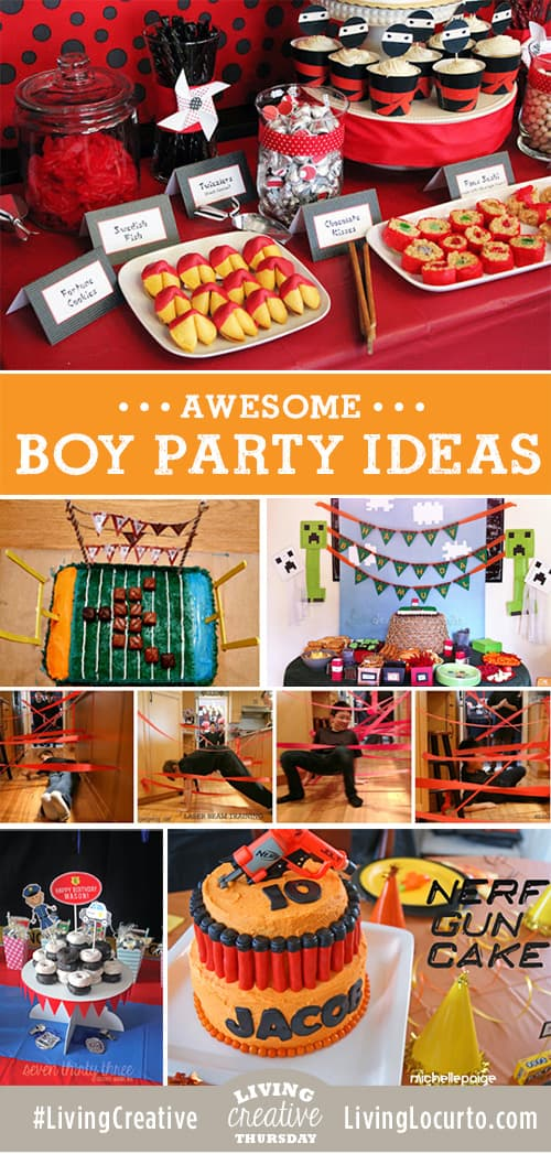 6 Amazing Boy Party Ideas