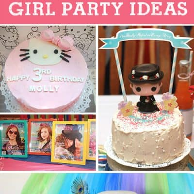 5 DIY Girl Birthday Party Ideas {Living Creative Thursday}