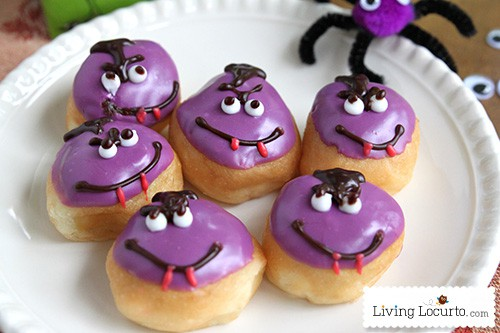 Monster Puppet Crafts for Kids & Monster Dracula Donuts LivingLocurto.com