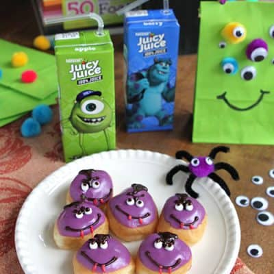 Monster Puppet Crafts for Kids – Dracula Donuts
