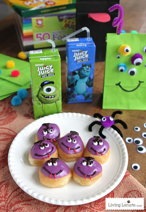 Monster Puppet Crafts for Kids - Monsters University LivingLocurto.com