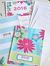 2016 Personal Planner