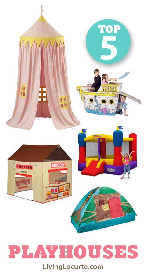 Top 5 Playhouses for Kids LivingLocurto.com