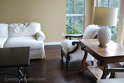 Family Room Makeover - DIY Home Decor LivingLocurto.com