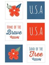 Patriotic Tags