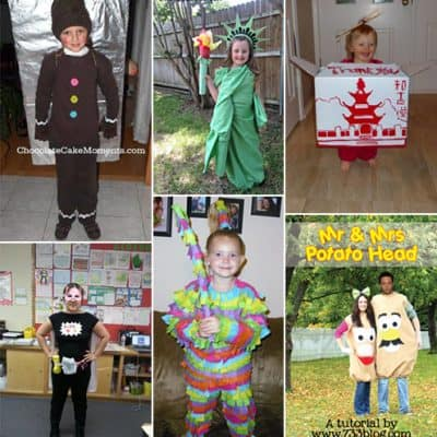 10 DIY Halloween Costume Ideas {Living Creative Thursday}