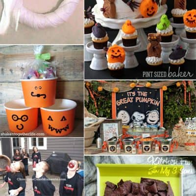 7 DIY Halloween Party Ideas {Living Creative Thursday}