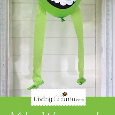 Monsters University – DIY Mike Wazowski Party Balloon {Printable}