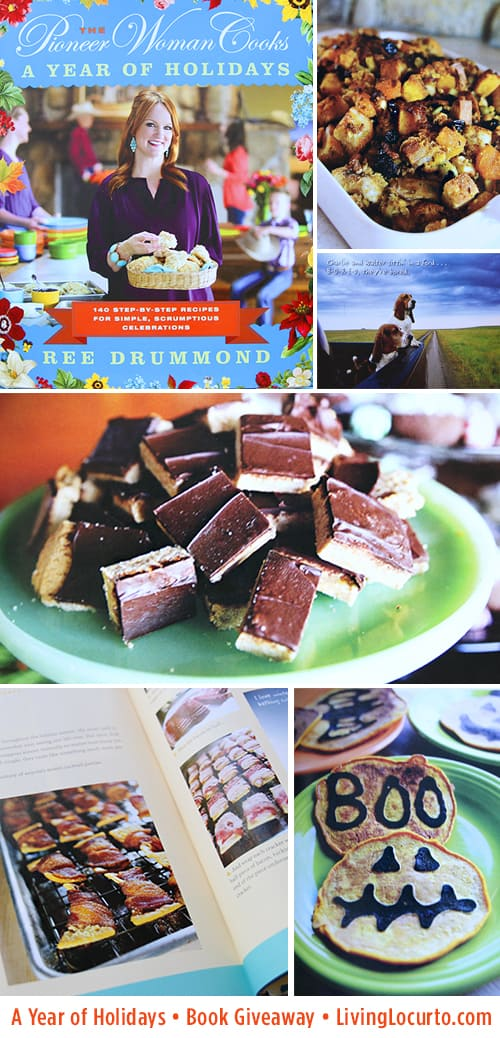 The Pioneer Woman - A Year of Holidays Cookbook Giveaway via LivingLocurto.com