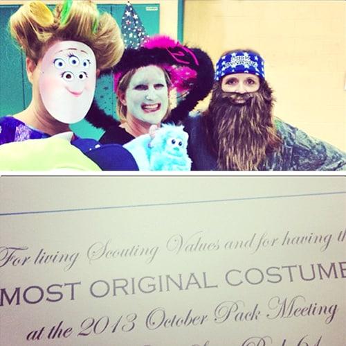 Monsters University Ms  Squibbles Free Printable Mask - DIY