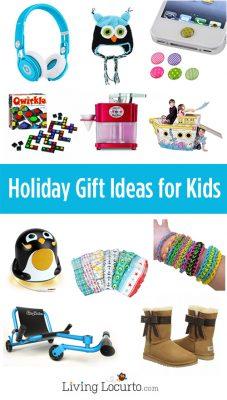 Christmas Holiday Gift Ideas for Kids. LivingLocurto.com