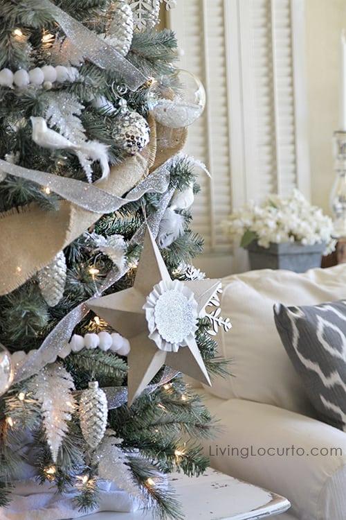 Diy Christmas Tree Star Ornaments