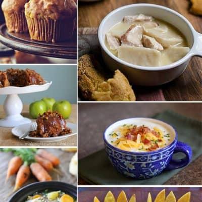 Favorite Fall Recipes {Living Creative Thursday}
