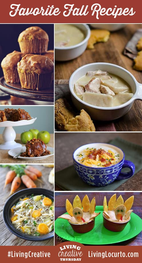 Some favorite recipes to make during the fall season!