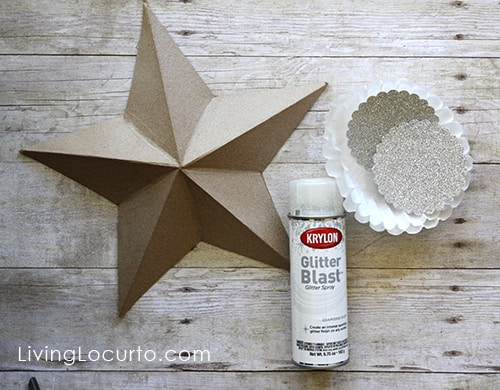 easy diy christmas tree star ornaments livinglocurtocom christmas