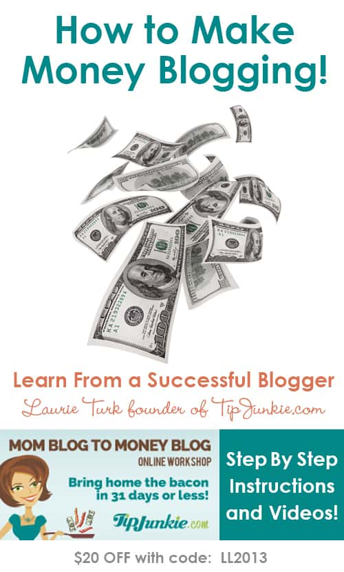 How to make money with your blog! This is seriously good stuff. Lessons from a blogger and busy mom of three making a six figure income!