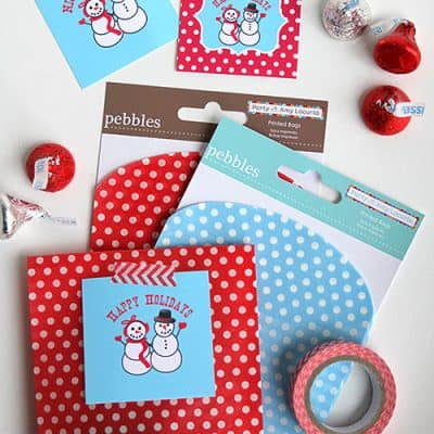 Free Printable Holiday Snowman Tags – DIY Gift Idea