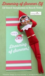 Elf-Beach-Towel-Sunglasses-Printable-Living-Locurto