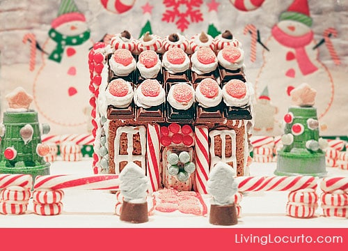 Cute Gingerbread House Decorating Ideas and Inspiration. LivingLocurto.com