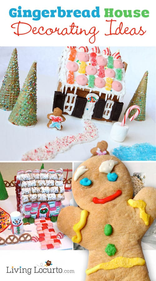 Enjoy cute Gingerbread House Decorating Ideas and Inspiration with over 20 easy gingerbread recipes perfect for the Christmas holiday!