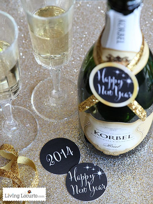 New Years Eve Party Printables - LivingLocurto.com