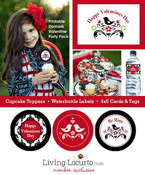 Exclusive Valentine Printable Party Collection by LivingLocurto.com