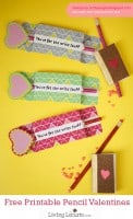 Free Printable Pencil Holder Valentines