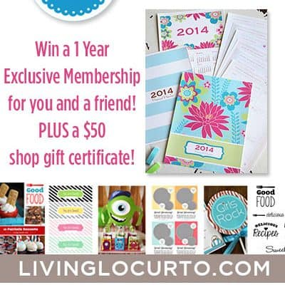 Living Locurto Printables Giveaway! (Value $100)