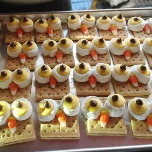 Owl S'mores Fun Food Party Idea - Living Locurto Reader Spotlight. LivngLocurto.com