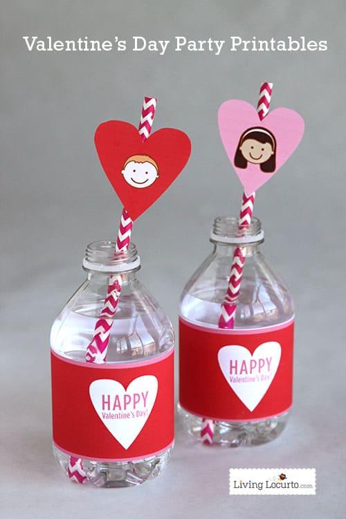 Valentine's Day Classroom Party Printables. LivingLocurto.com
