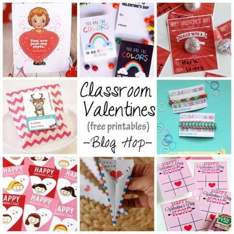 Free Printable School Valentines Day Cards For Kids – Valentine Card Ideas for School