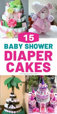 Baby Shower Diaper Cakes Crafts