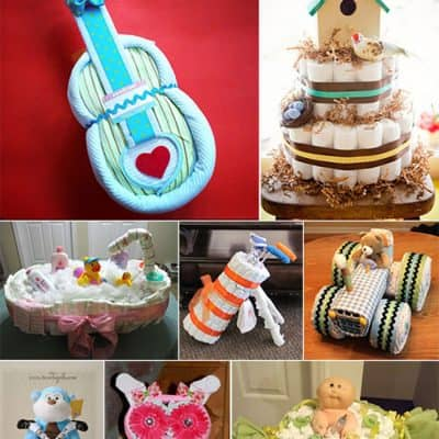 15 Amazing Diaper Cakes for a Baby Shower