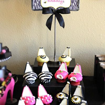 High Heel Cupcakes | Living Creative Thursday