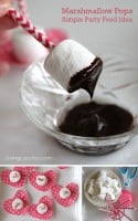 Marshmallow Pops – Simple Party Food Idea