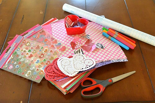Cute DIY Placemats Easy Valentines Day Paper Craft For Kids LivingLocurto