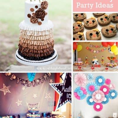Adorable Girl Birthday Party Ideas