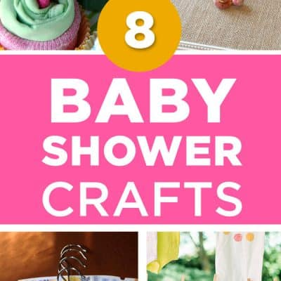 8 Adorable Baby Shower Crafts